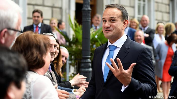 Irland Leo Varadkar als irischer Premier bestätigt (Reuters/C. Kilcoyne)