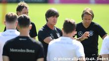 Deutschland Fußball Nationalmannschaft   Training
