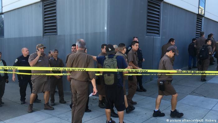 На місці стрілянини у Сан-Франциско