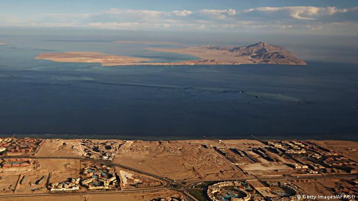 Ägypten Die Inseln Sanafir und Tiran (Getty Images/AFP/Str)
