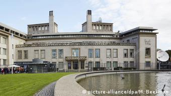 Internationaler Strafgerichtshof für das ehemalige Jugoslawien in Den Haag (picture-alliance/dpa/M. Beekman)