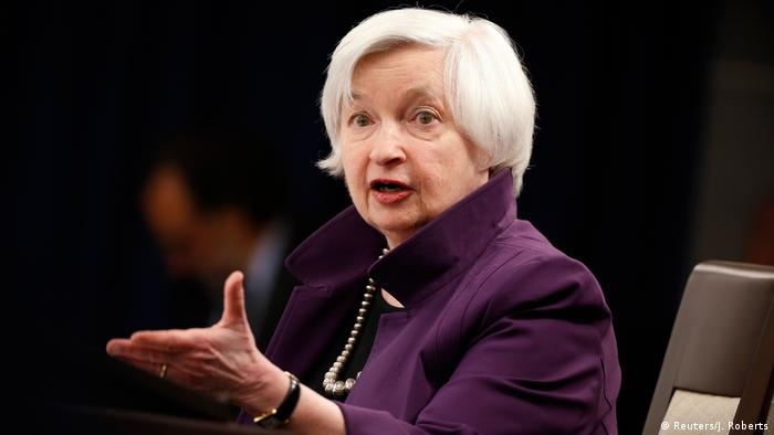 Janet Yellen from the Federal Reserve Board