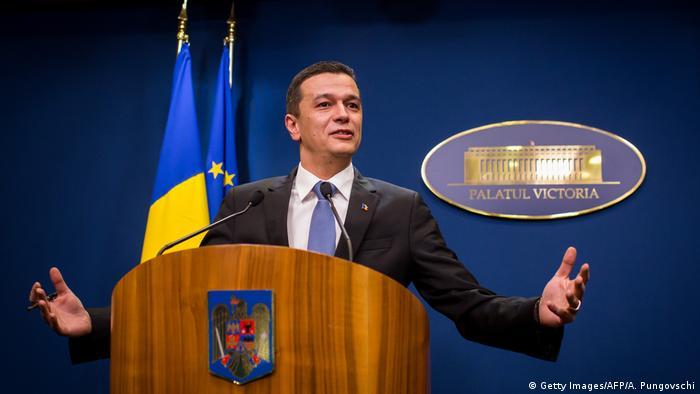 Sorin Grindeanu (Getty Images/AFP/A. Pungovschi)