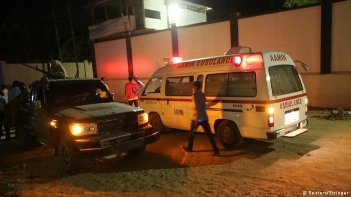 Somalia - Anschlag in Mogadishu (Reuters/Stringer)