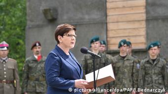 H πρωθυπουργός της Πολωνίας Μπεάτα Σίντλο