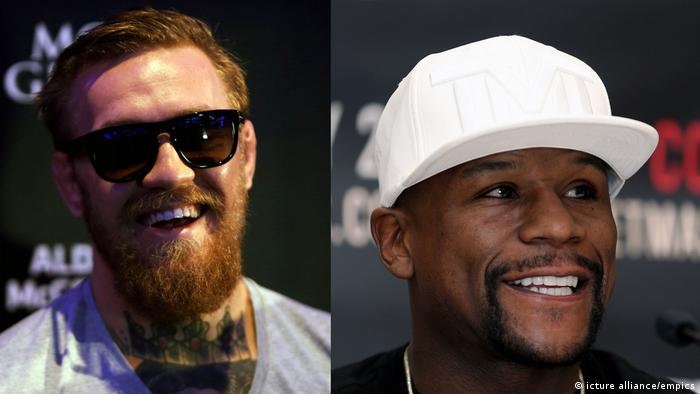 Conor McGregor und Floyd Mayweather (icture alliance/empics)