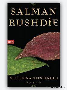 Portada de la edición alemana de Hijos de la medianoche.