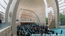 Gebetssaal der Kölner Moschee