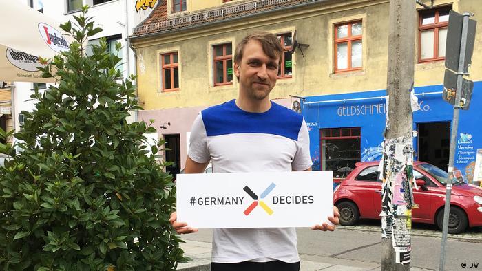 BTW Sommerreise Bürgerstimmen Dresden Michael Nattke (DW)