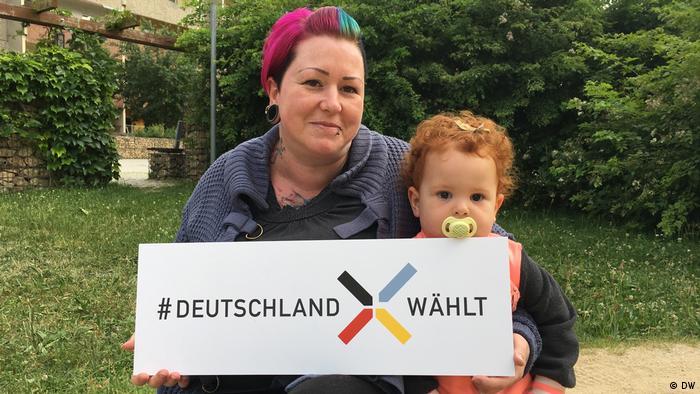BTW Sommerreise Bürgerstimmen Dresden Carmen (DW)