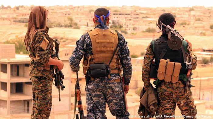 SDF bei Raqqa