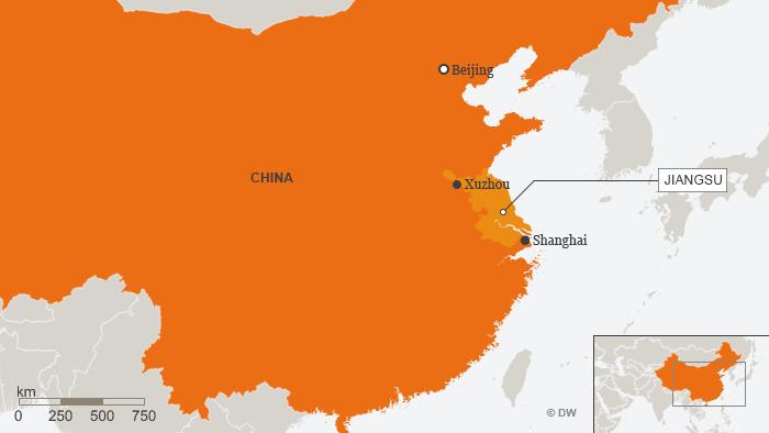 Karte China Xuzhou ENG