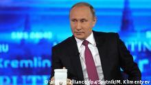 Russland TV Der direkte Draht zu Putin