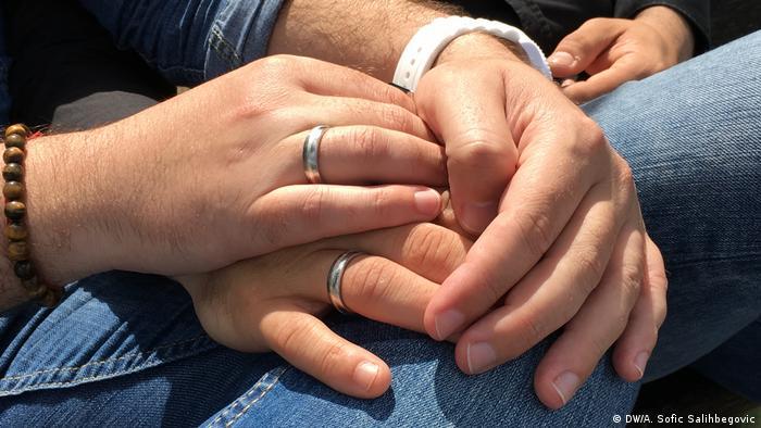Deutschland homosexuelles Paar aus Bosnien und Herzegowina