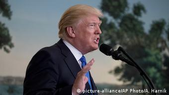 Donald Trump Statement Schießerei in Alexandria
