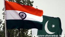 Symbolbild Grenze Indien Pakistan
