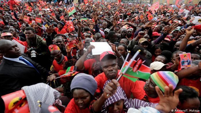 Kenyatta's supporters