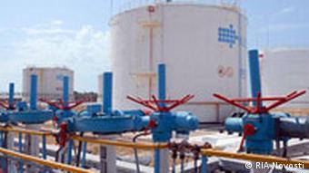Нефтеперекачивающая станция в Актау