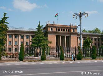 Дворец президента в Душанбе