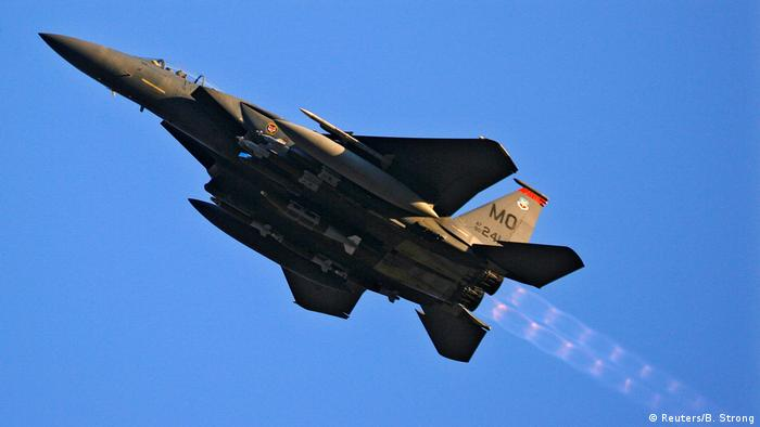 US Air Force F-15 Kampfjet (Reuters/B. Strong)