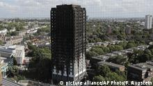 UK Grenfell Tower in London