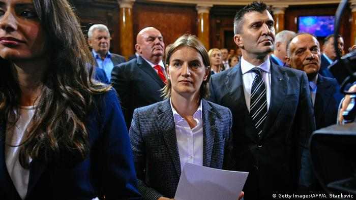 Serbien | Ana Brnabic (Getty Images/AFP/A. Stankovic)