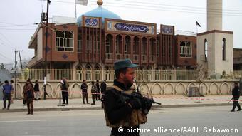 Imagen del ataque perpetrado en Kabul en noviembre de 2016.