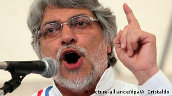 Paraguay - Ehemaliger Präsident Fernando Lugo (picture-alliance/dpa/A. Cristaldo)