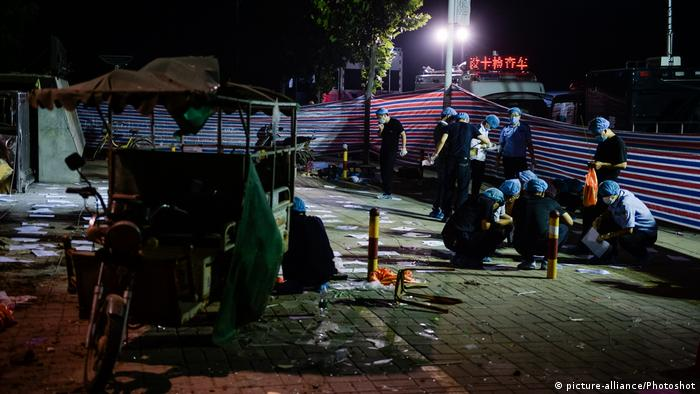 China - Explosion nahe eines Kindergartens in Fengxian (picture-alliance/Photoshot)