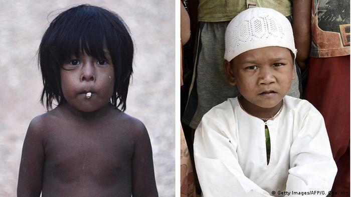 Indonesien Konvertiertes Orang Rimba Volk (Getty Images/AFP/G. Chai Hin)