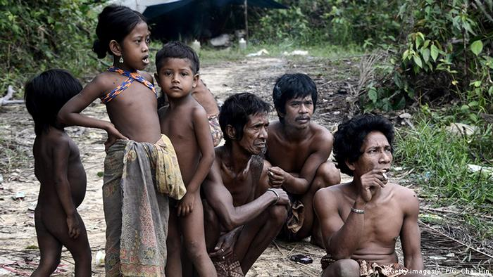 Indonesien Konvertiertes Orang Rimba Volk (Getty Images/AFP/G. Chai Hin)