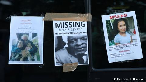 missing person posters (Reuters/P. Hackett)