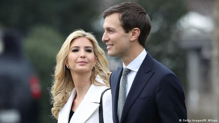 USA Ivanka Trump & Jared Kushner (Getty Images/M. Wilson)