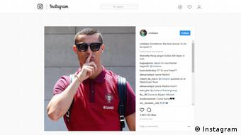 Screenshot Instagram Christiano Ronaldo (Instagram)