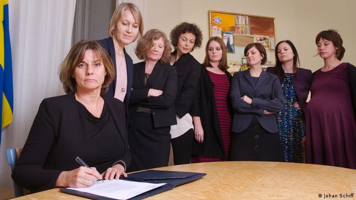 Schweden Isabella Lövin Klimagesetz