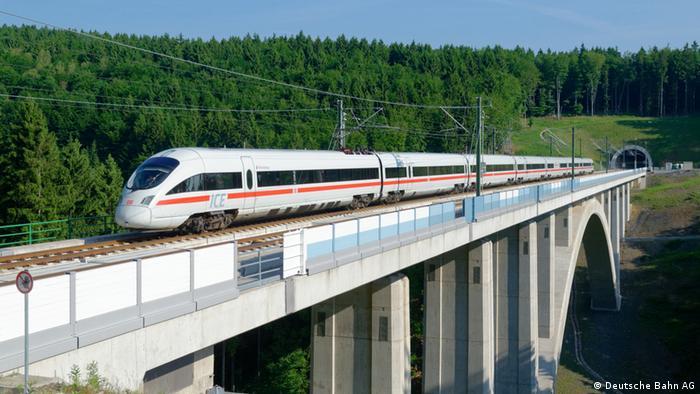 Berlin – München ICE Strecke Dunkeltalbrücke