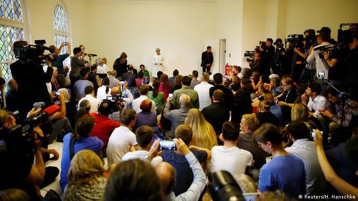 Deutschland Eröffnung liberale Moschee in Berlin (Reuters/H. Hanschke)