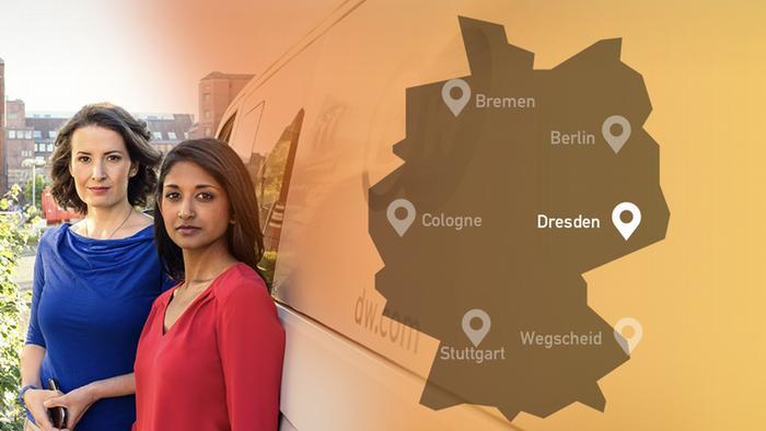 DW Germany Decides Nina and Sumi