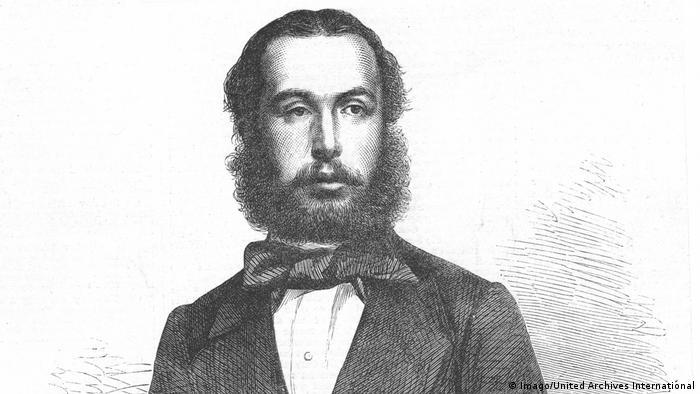 Retrato de Maximiliano Emperador de México.