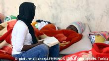 Libyen Flüchtlinge Menschenschmuggel Symbolbild