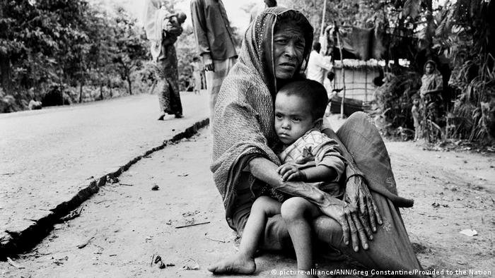 Bangladesch Flüchtlinge der Rohingya (picture-alliance/ANN/Greg Constantine/Provided to the Nation)