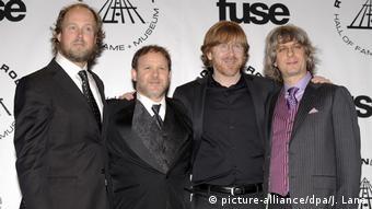 Phish beim Rock and Roll Hall of Fame Aufnahmezeremonie 2010