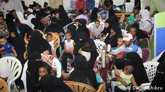 Ethiopians return home