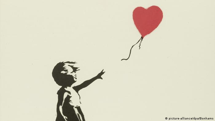 Kunstwerk 'Balloon Girl' von Banksy (picture-alliance/dpa/Bonhams)
