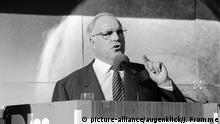 Altbundeskanzler Helmut Kohl (picture-alliance/augenklick/J. Fromme)