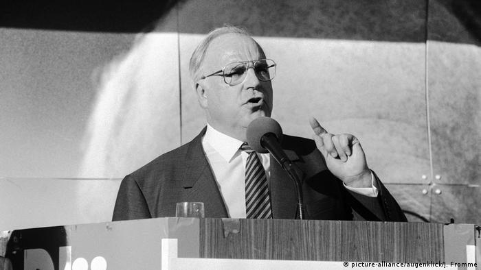 Гельмут Коль (ХДС), 1982 - 1998