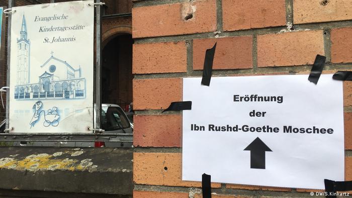 Ibn Rushd-Goethe-Moschee Berlin (DW/S.Kinkartz)