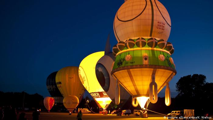 8. International Balloon Sail in Kiel, Germany, June 21-29, 2014 (picture alliance/dpa/K. Niehus)