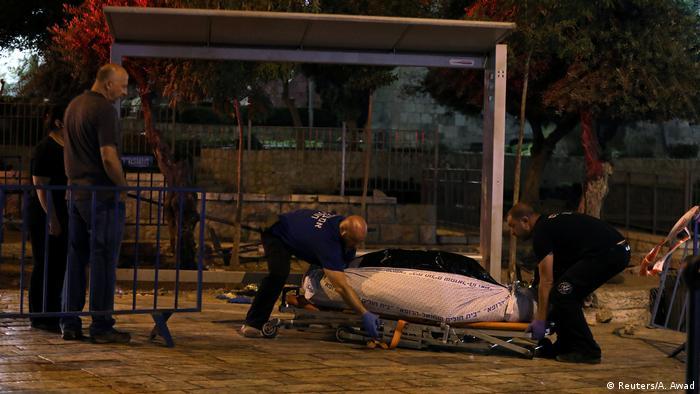 Israelische Polizistin bei Angriff in Jerusalem getötet (Reuters/A. Awad)