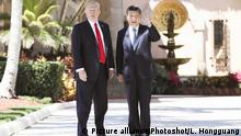 USA China Donald Trump und Xi Jinping